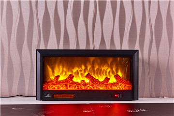 Main view of decor flame electric fireplace 3