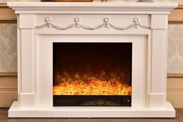 electric fireplace with mantel canada