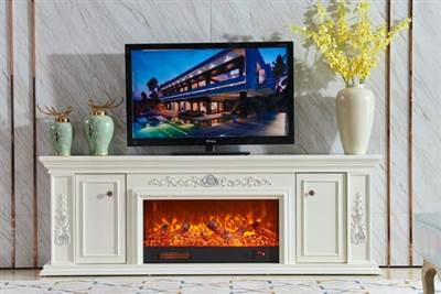 electric fireplace tv stand modern