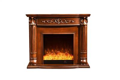 Home decorators collection freestanding electric fireplace heater