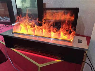 3d Water Vapor Electric Fireplace